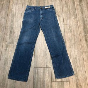 Vintage 70s Wrangler Made in USA Denim Talon Jeans